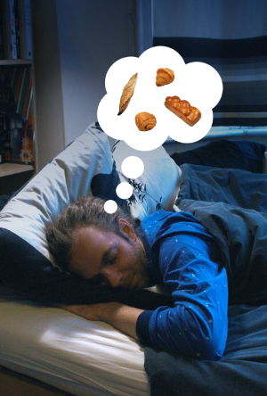 Arnaud from Bluto dreaming of delicious breads and viennoiseries